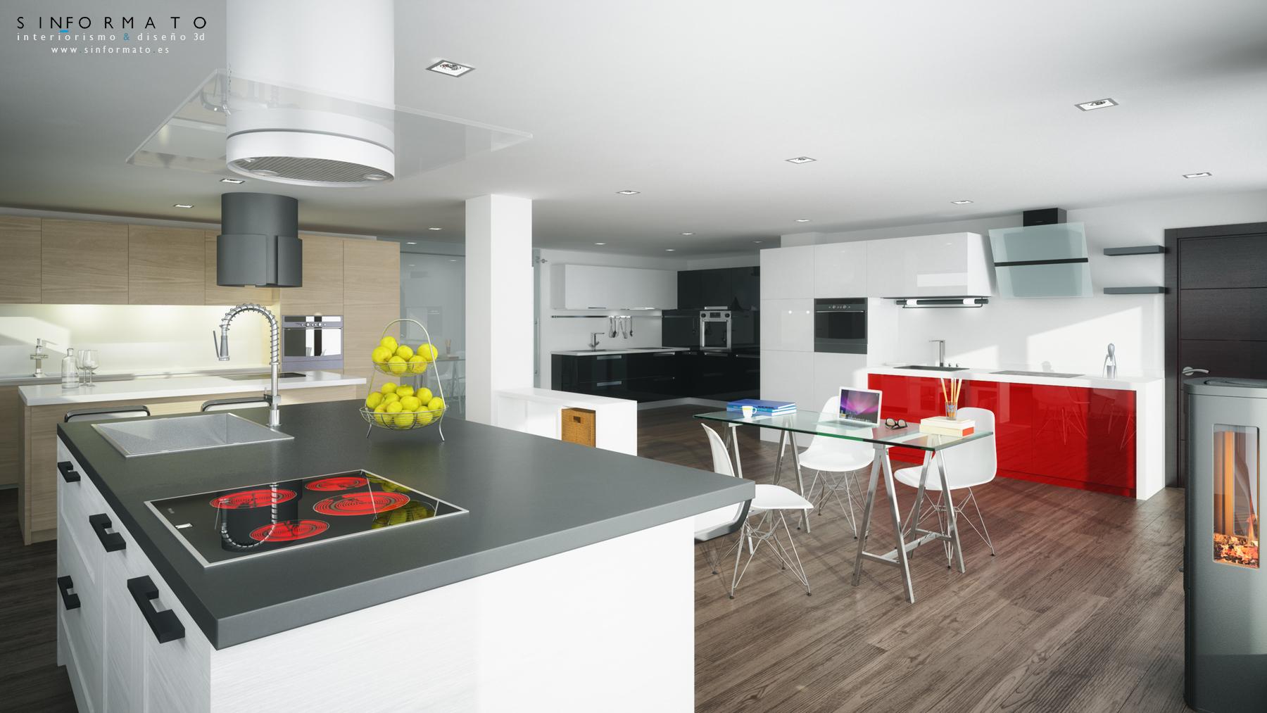 Interiorismo showroom cocinas disenove sin formato - Forma interiorismo ...