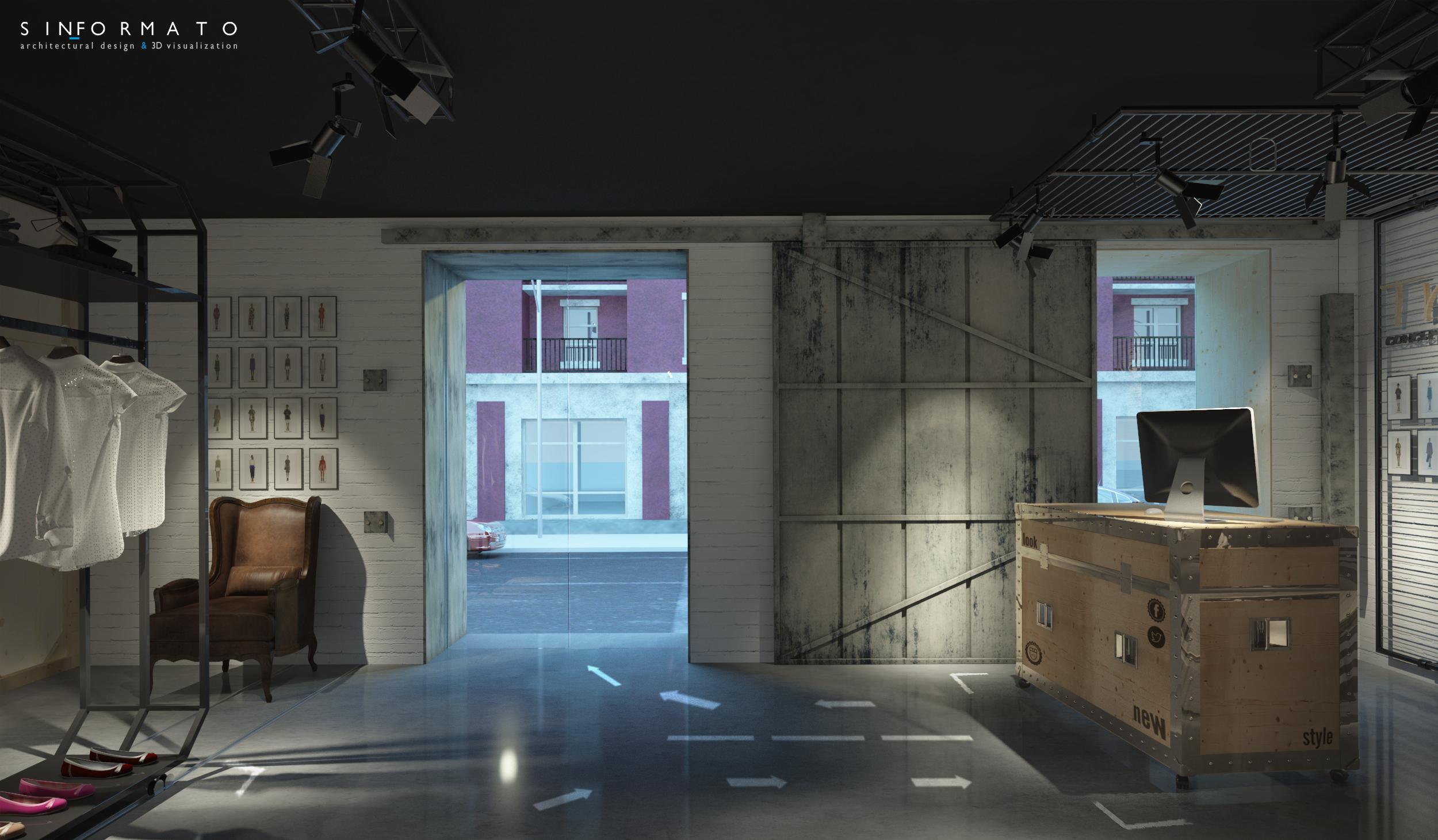Dise o e interiorismo new concept store trasluz sin for Diseno e interiorismo